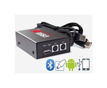Volvo (HU-xxx) - USB iPhone Android Integration kit